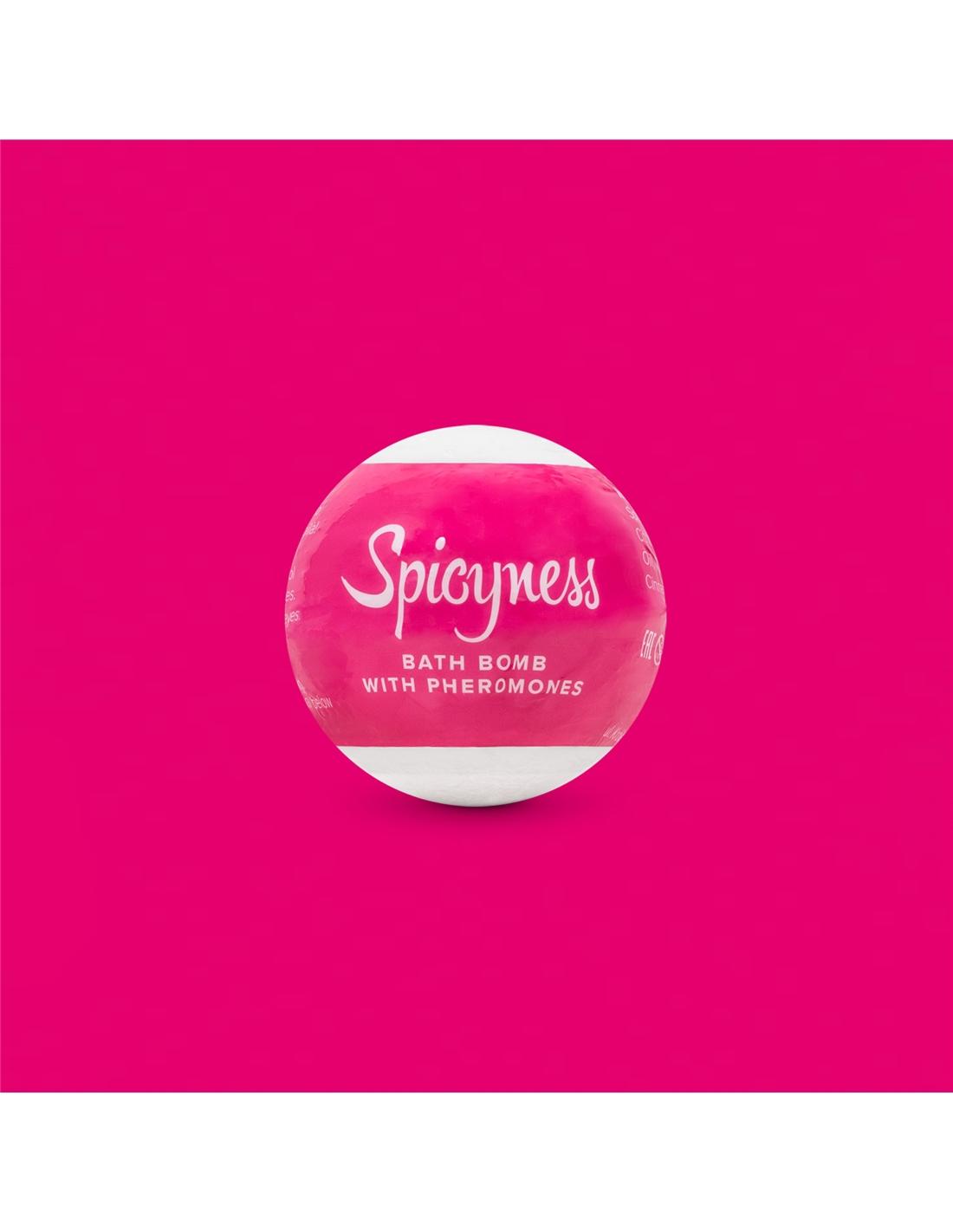 Bomba De Banho Com Feromonas Spicyness Obsessive - PR2010352394