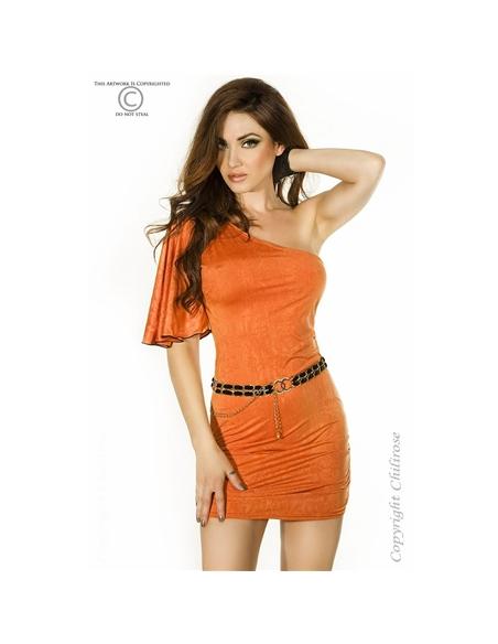Vestido Cr-3253 Laranja - 36-38 S/M - PR2010318417