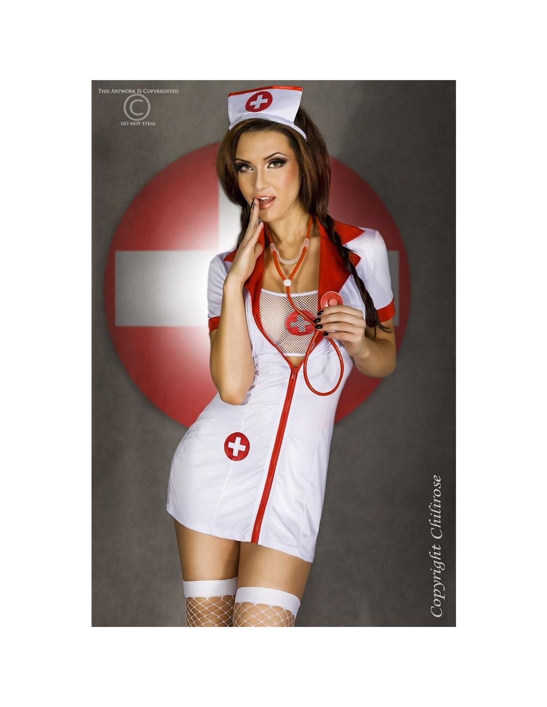 Fantasia De Enfermeira Cr-3305 - 36-38 S/M - PR2010318830