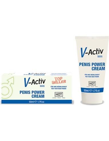 Creme Estimulante Penis Power Cream V-Activ - 50ml - PR2010300695
