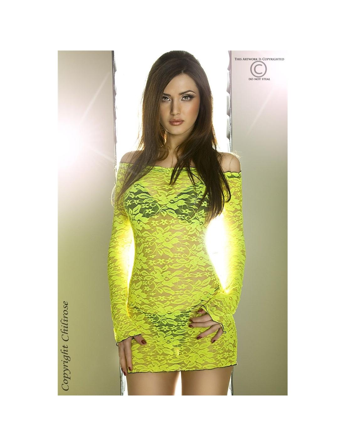 Camisa De Noite Cr-3339 Amarela - 36 S - PR2010319347