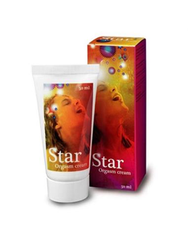 Creme Íntimo Star Orgasm Cream Para Mulher - 50ml - PR2010303750