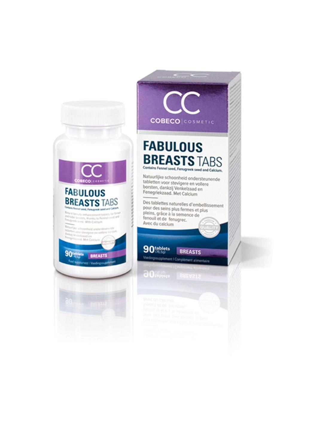 Comprimidos Cc Fabulous Breasts Tablets - PR2010304057