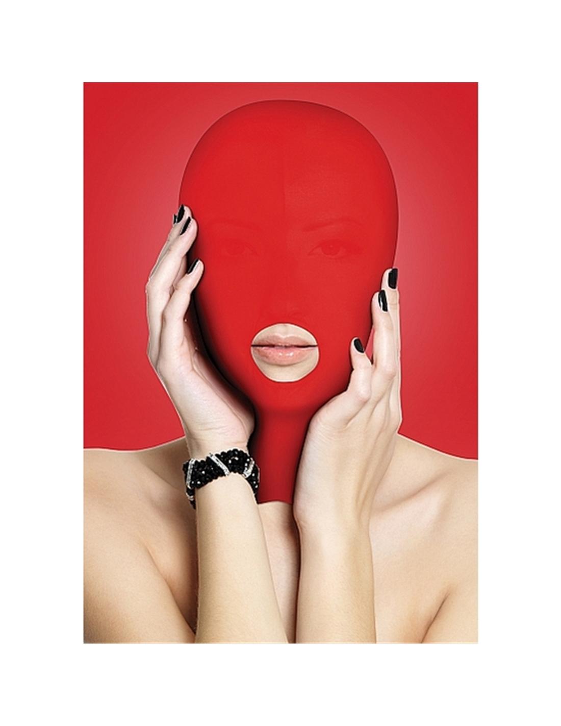 Máscara Submission Mask Vermelha - PR2010320103