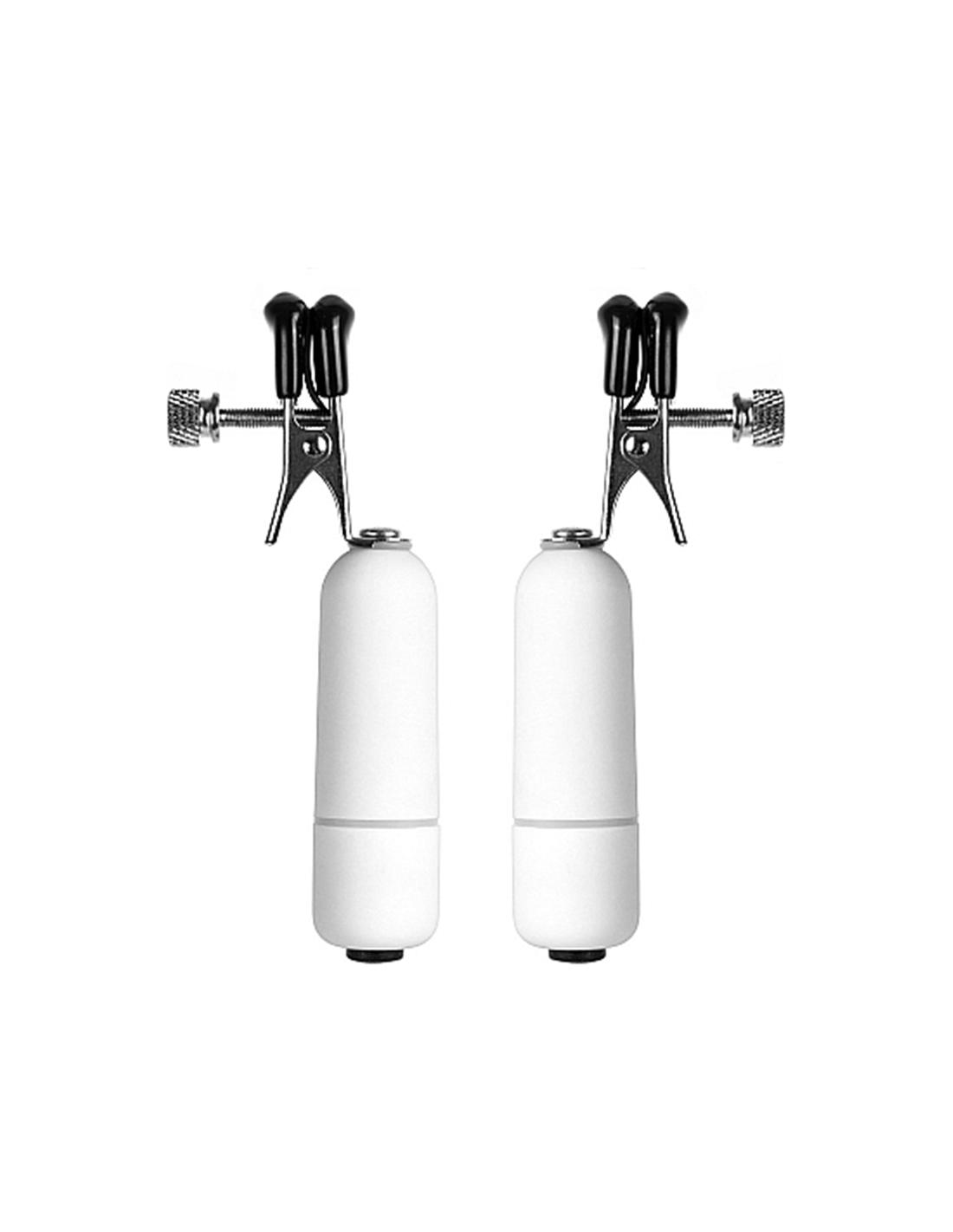 Pinças Vibratórias Para Os Mamilos Vibrating Nipple Clamps - PR2010320113