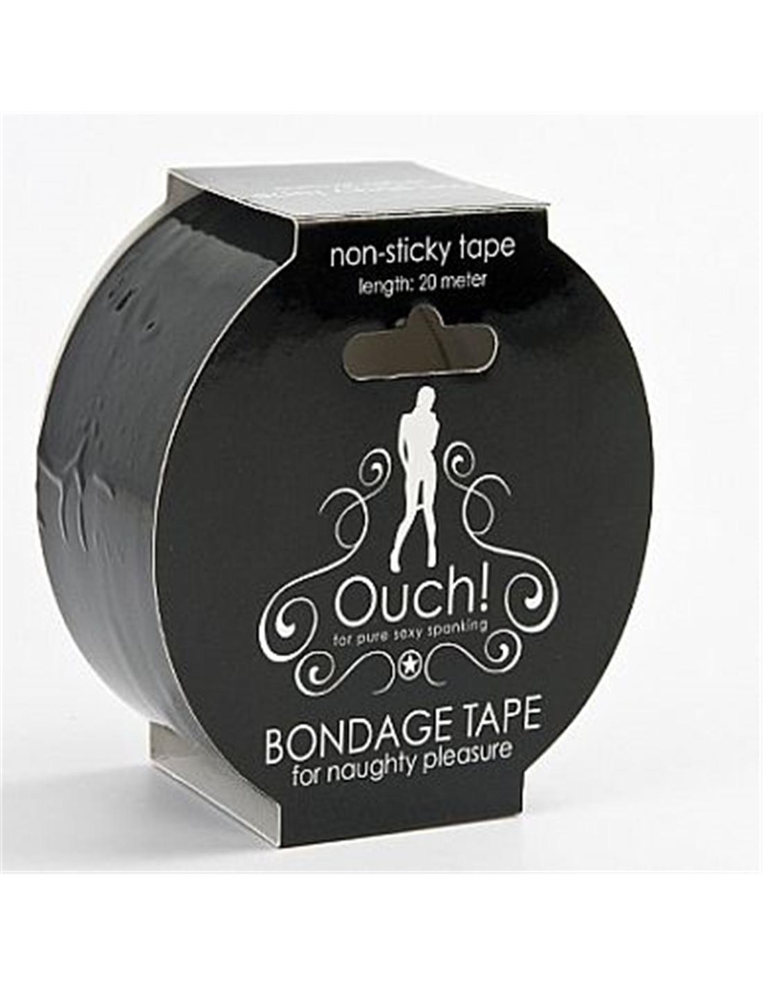 Fita Ouch! Bondage Tape Preta - PR2010303459