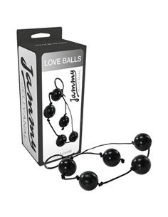 Bolas Anais Love Balls Jammy Jelly Anal Pretas - PR2010326166