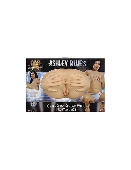 Masturbador Ashley Blue Spread Wide Vagina E Ânus - PR2010320606