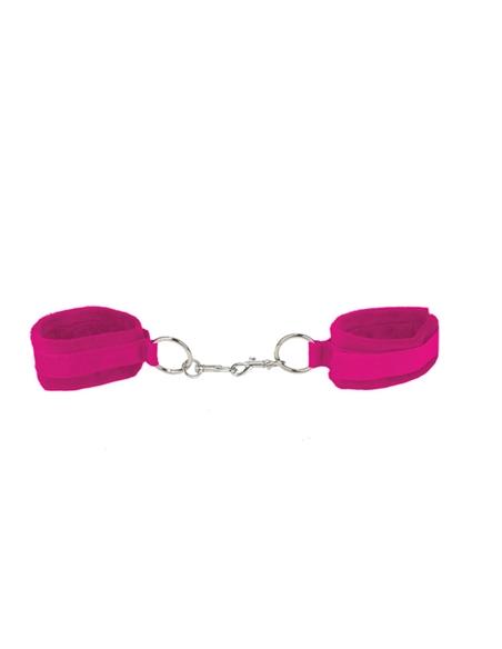 Algemas Ouch! Velcro Handcuffs Rosa - PR2010320466