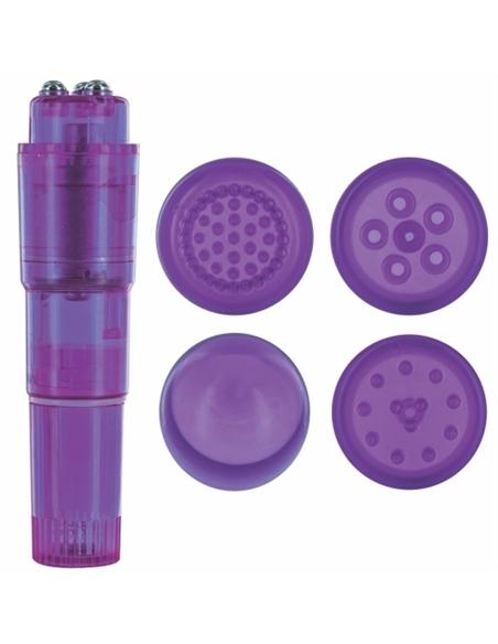 Vibrador Candy Pie Pulsy Roxo - PR2010322200