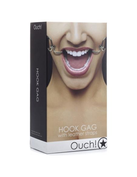 Mordaça Ouch! Hook Gag Preta - PR2010324005