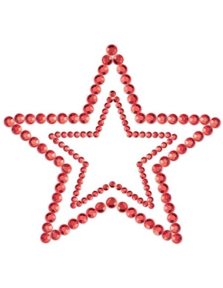 Tapa Mamilos Mimi Star Bijoux Indiscrets Vermelhos - PR2010324322