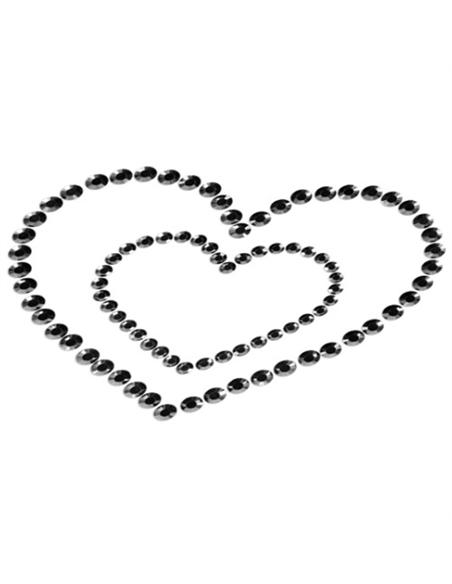 Tapa Mamilos Mimi Heart Bijoux Indiscrets Pretos - PR2010324324