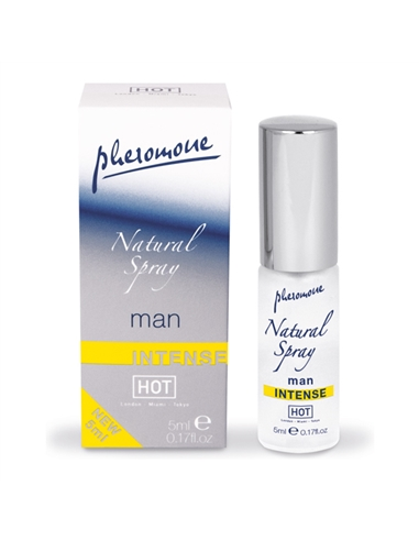 Perfume Com Feromonas Natural Spray Shiatsu Man Intens - 5ml - PR2010324232