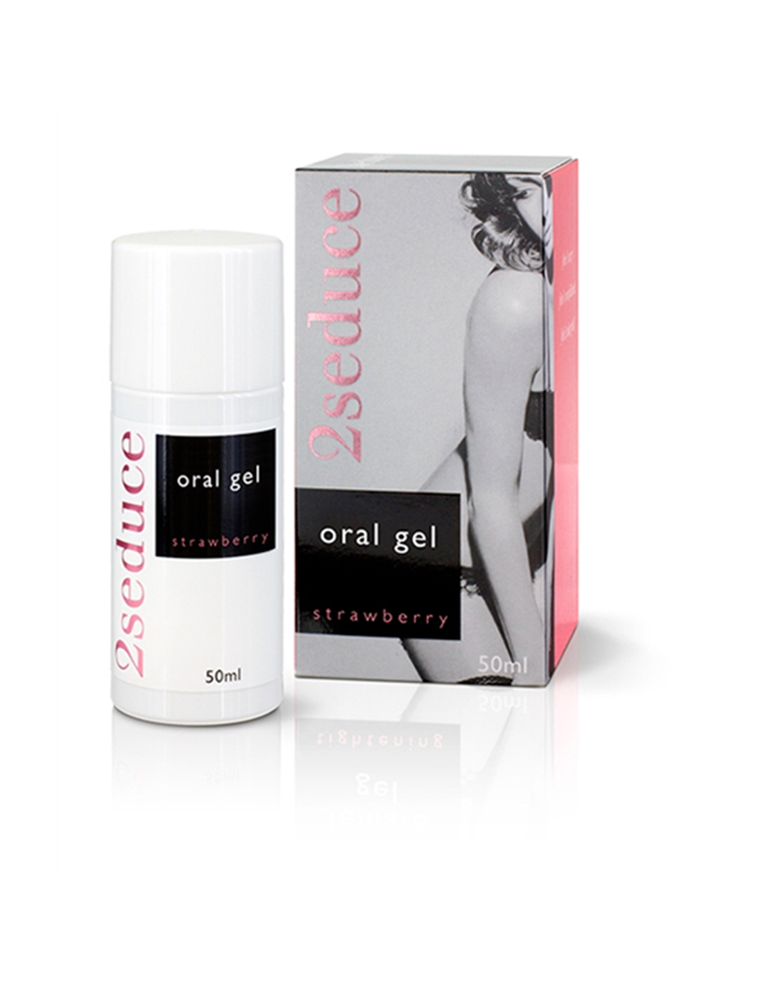 Gel Oral 2Seduce Sabor A Morango - 50ml - PR2010324148