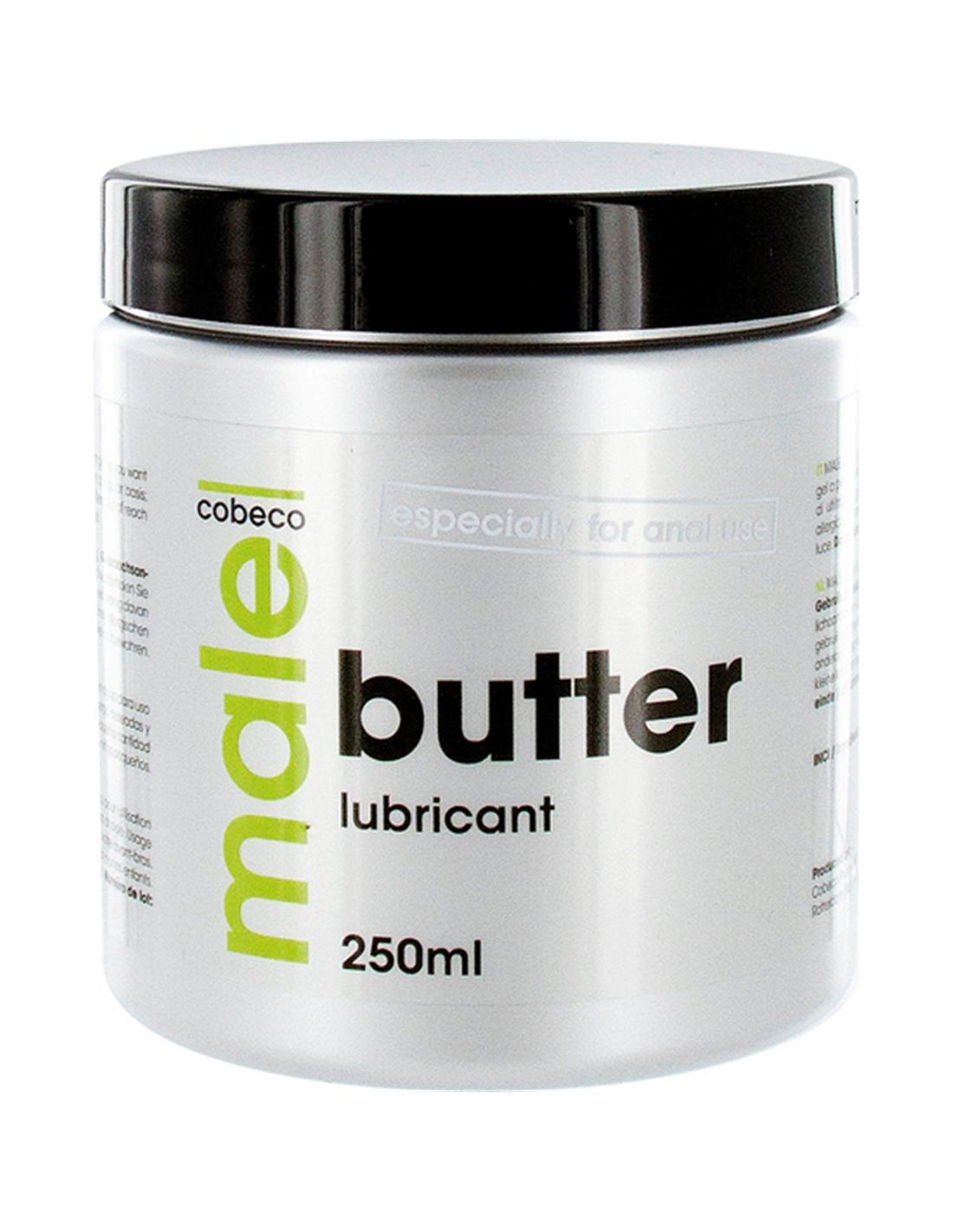 Lubrificante À Base De Água Male Butter 250Ml Com Data A Ex - PR2010317431