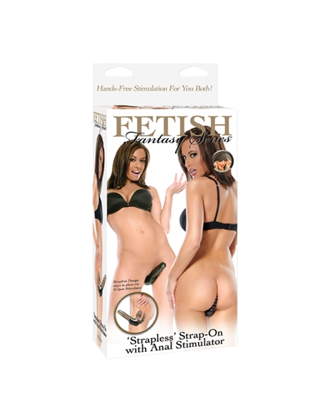 "Fetish Fantasy Strapless"" Strap-On Com Estimulador Anal - PR2010304230"