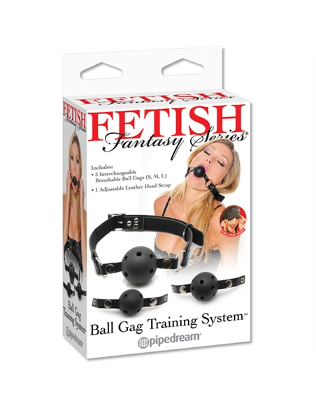 Mordaça De Treino Ball Gag Training System Fetish Fantasy S - PR2010303990