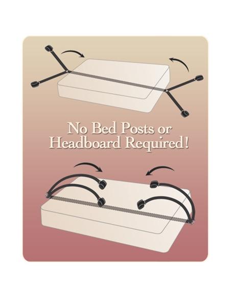Kit De Restrição Bed Bindings Restraint Kit - PR2010299893