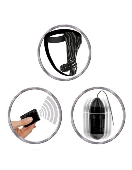 Tanga Vibratória Com Comando À Distancia Remote Control Vib - PR2010312600