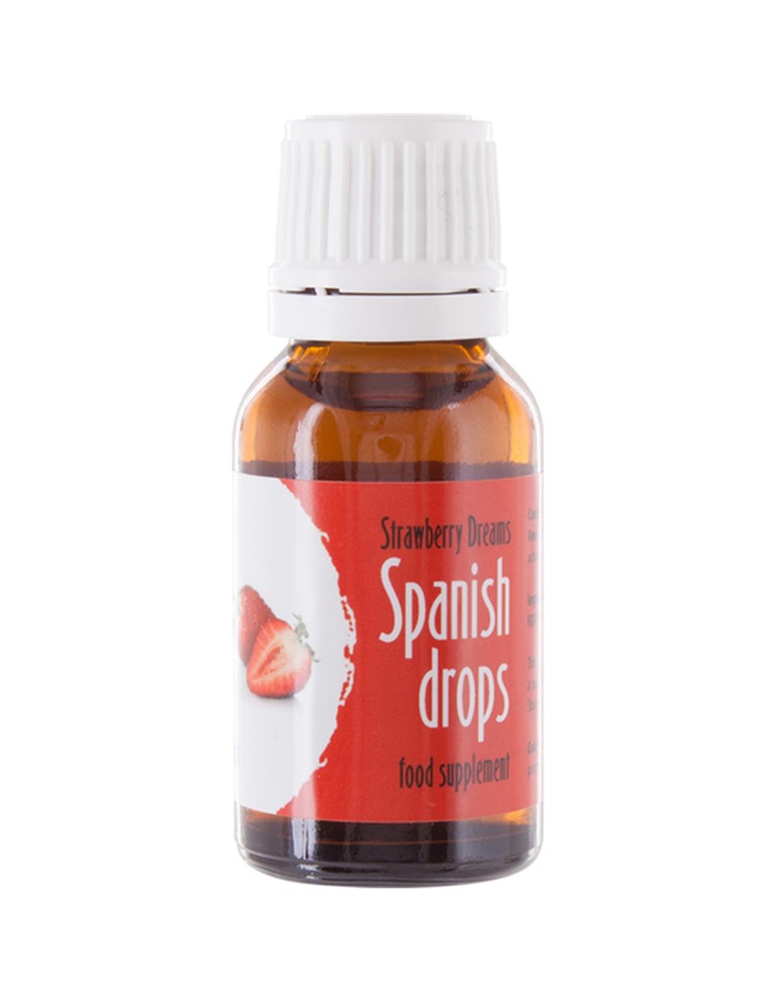 Gotas Spanish Drops Morango - 15ml - PR2010301817