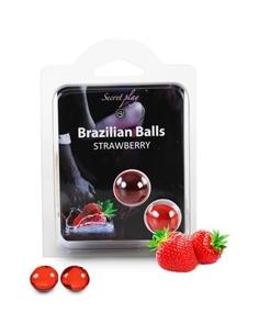 Bolas Lubrificantes Beijáveis Brazilian Balls Sabor A Moran - PR2010314260
