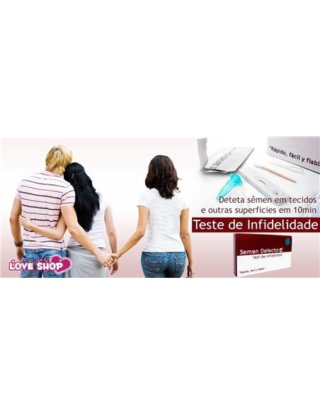 Teste de Infidelidade Semen Detector - PR2010324277