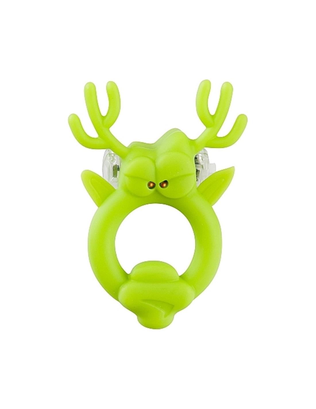 Anel Vibratório Com Luz Beasty Toys Rockin Reindeer - PR2010302089