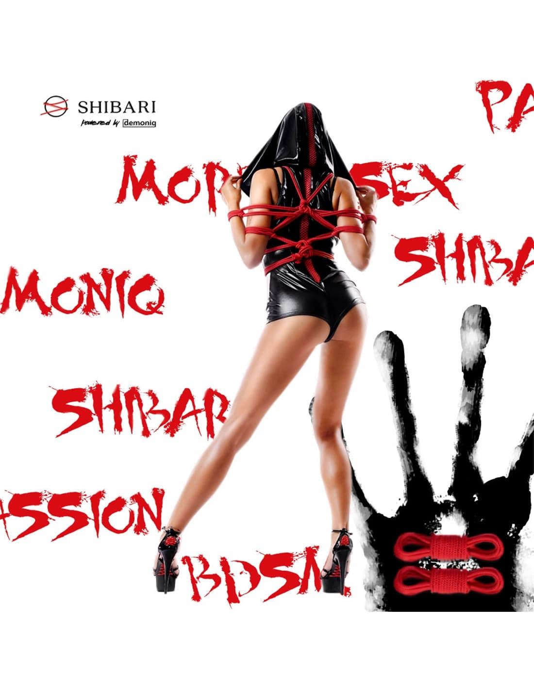 Macacão Hoshi Shibari Pack Demoniq Preto - 44 XXL - PR2010343431
