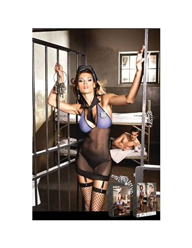 Conjunto Fantasia de Mulher Polícia M/L #1 - PR2010313010