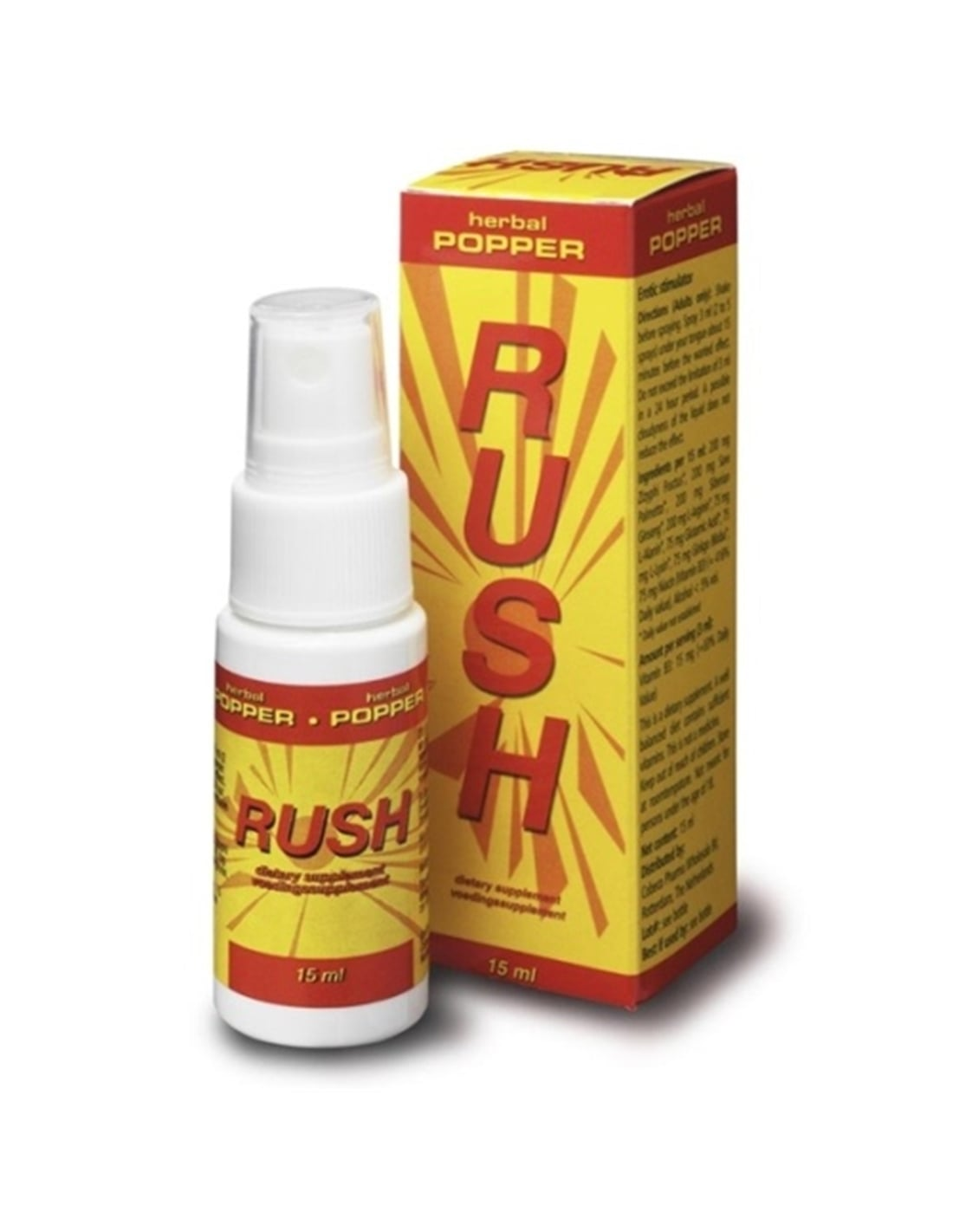 Spray Estimulante Rush Herbal Popper - 15ml - PR2010319714