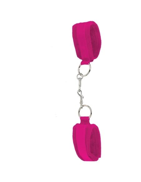 Algemas Ouch! Velcro Handcuffs Rosa - Rosa #1 - PR2010320466