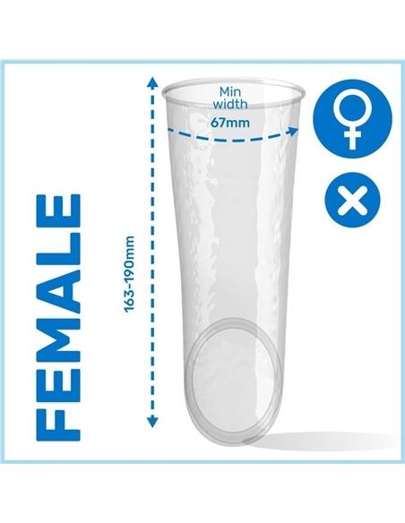 Preservativo Feminino Pasante Sem Látex 1 Unidade - PR2010323343