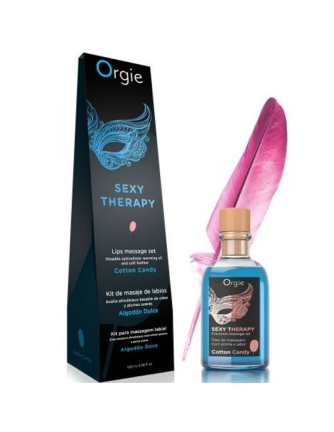 Kit de Massagem de Lábios Algodão Doce ORGIE - PR2010359507