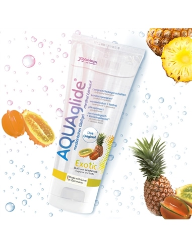 Lubrificante Aquaglide Frutos Exóticos - 100ml - DO29004935