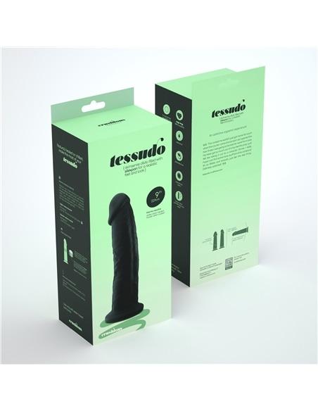 Dildo Premium Silicone Tessudo 9' Chocolate Crushious - PR2010354741