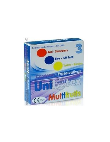 Preservativos Multifrutas - 3 Unidades - PR2010318603