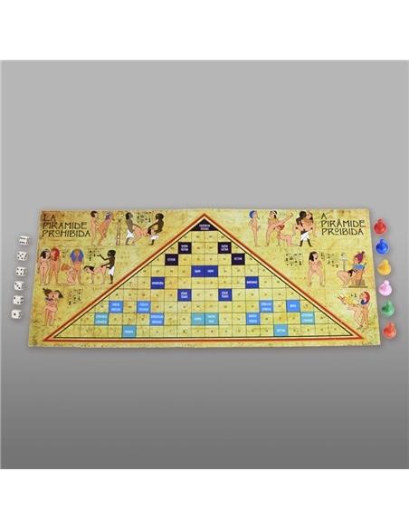 Jogo a Pirâmide Proibida Em Português e Espanhol Secret Play - PR2010299347