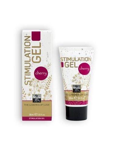 Gel Estimulante Shiatsu Stimulation Gel Cereja - 30ml - PR2010301940